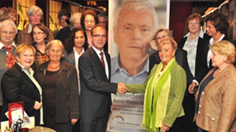 Überreichung der Kreisspende 2010 der CDU-Kleiderstuben im Rhein-Sieg-Kreis an die Telefonseelsorge Bonn-Rhein-Sieg
