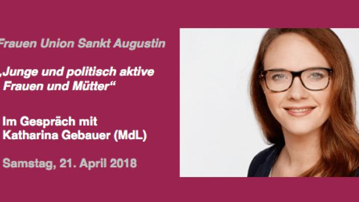 Informationen aus erster Hand: Im Gespräch mit Katharina Gebauer (MdL)