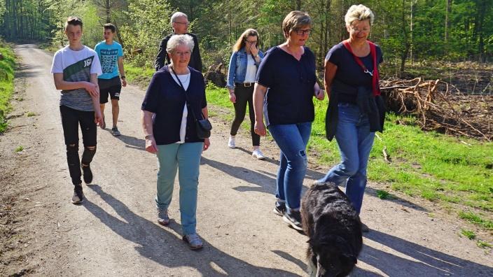 Unterwegs im Kottenforst: Frauen Union Swisttal mit Oliver Krauß (MdL)