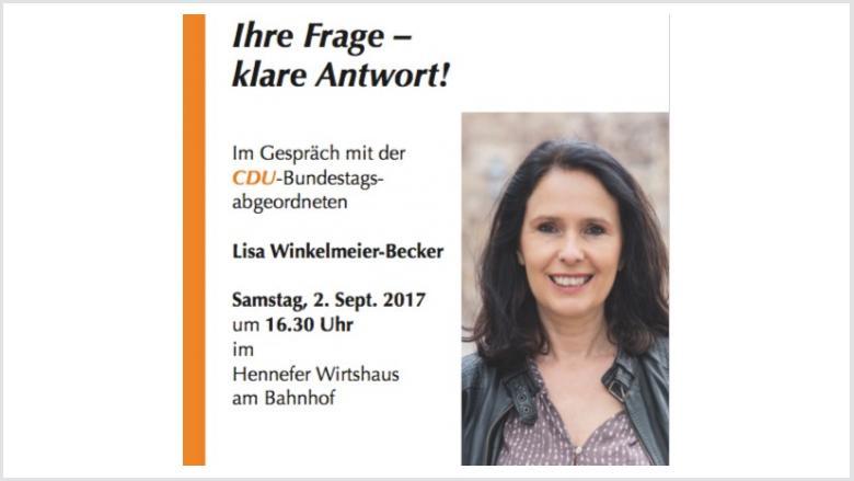 Ihre Frage - klare Antwort! Im Gespräch mit Lisa Winkelmeier-Becker