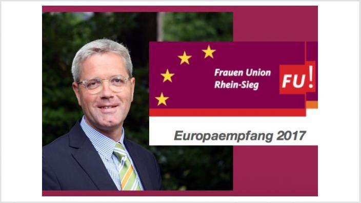 Europaempfang 2017 mit Dr. Norbert Röttgen