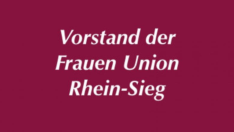 Vorstand der Frauen-Union der CDU des Rhein-Sieg-Kreises