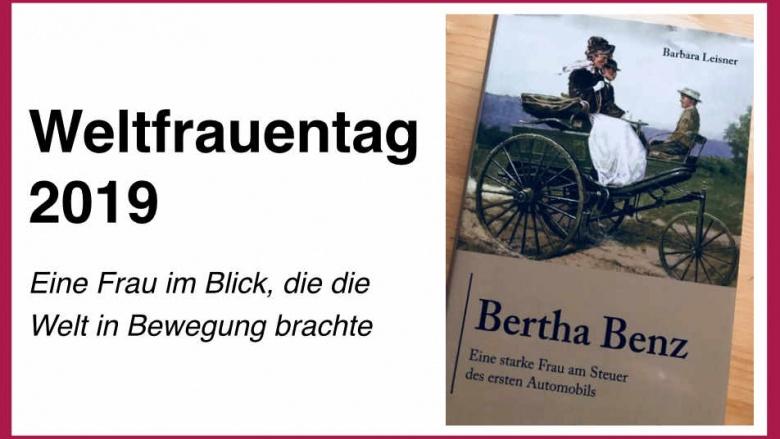 Weltbewegende Frau: Bertha Benz unternimmt die erste Fahrt mit dem Automobil