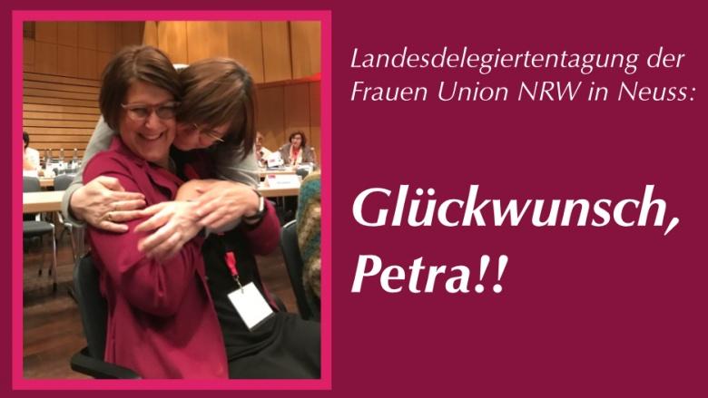 Wieder im Landesvorstand für die FU Rhein-Sieg: Petra Heller aus Bornheim