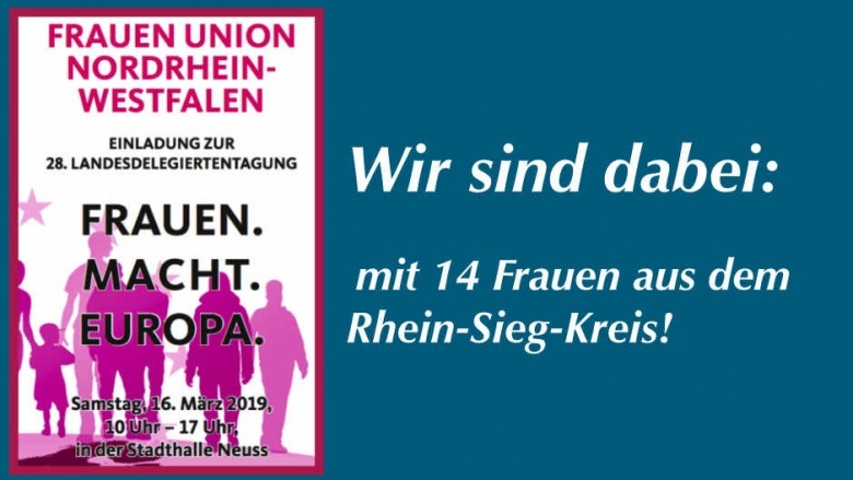 Landesdelegiertentagung der Frauen Union NRW in Neuss