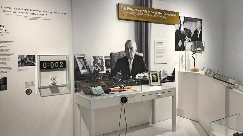 Präsentation in der Dauerausstellung