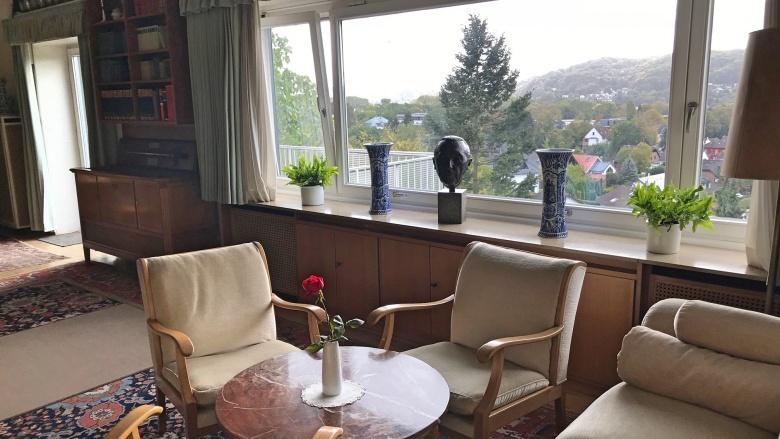 Wohnzimmer Konrad Adenauers im Rhöndorfer Haus