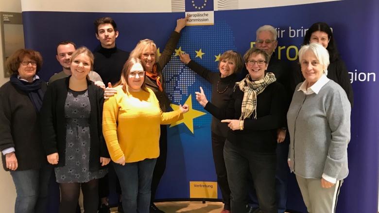 Besuch in der Europäischen Kommission Bonn!