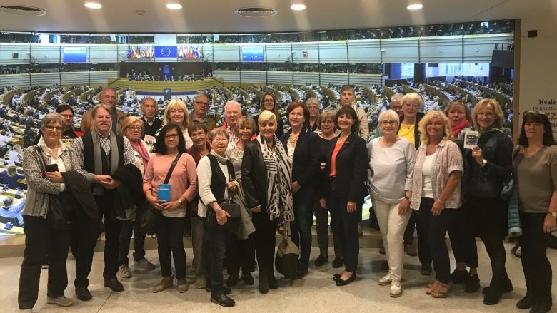 Mit unserer Reisegruppe der CDU Bildungsakademie Rhein-Sieg