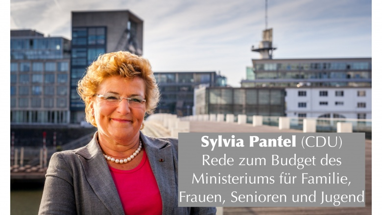 Budgetverwendung des Familienministeriums: Sylvia Pantel nennt Zahlen