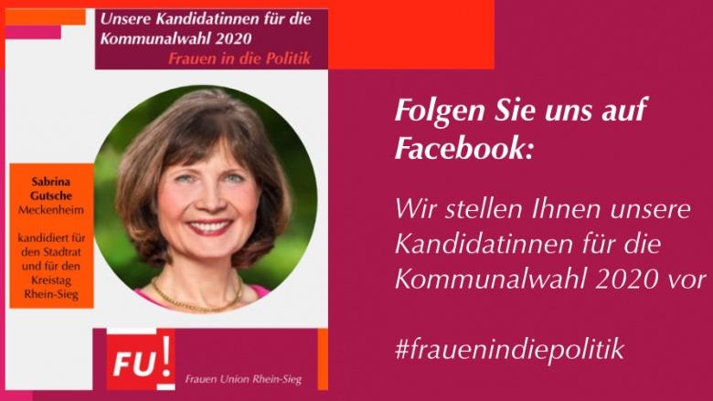 Lernen Sie auf Facebook alle unsere Kandidatinnen für die Kommunalwahl 2020 kennen #frauenindeipolitik