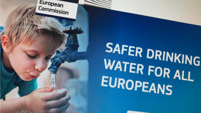 Hochwertiges Trinkwasser im öffentlichen Raum!