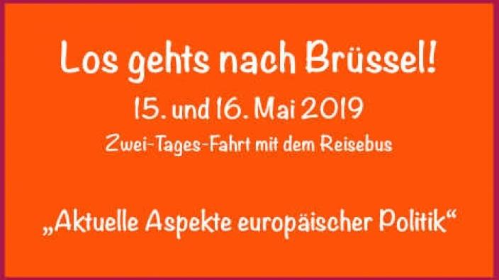 Im Europa-Wahljahr: Zwei Tage Brüssel und seine Europäischen Institutionen