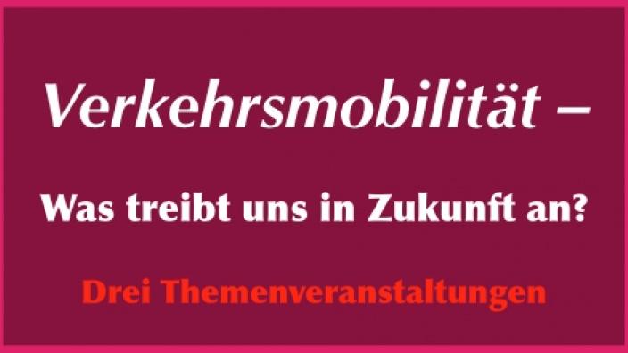 Zukunftsentscheidendes Thema: umweltfreundliche Mobilität