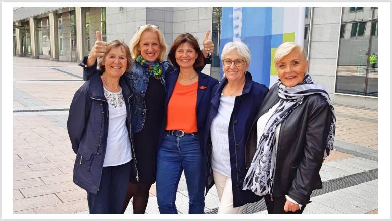 Frauen Union Rhein-Sieg mit dabei in der belgischen Hauptstadt: Europa im Mittelpunkt