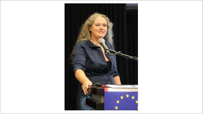 Judith Schilling (Europäische Kommission) zum Thema Klima- und Umweltschutz