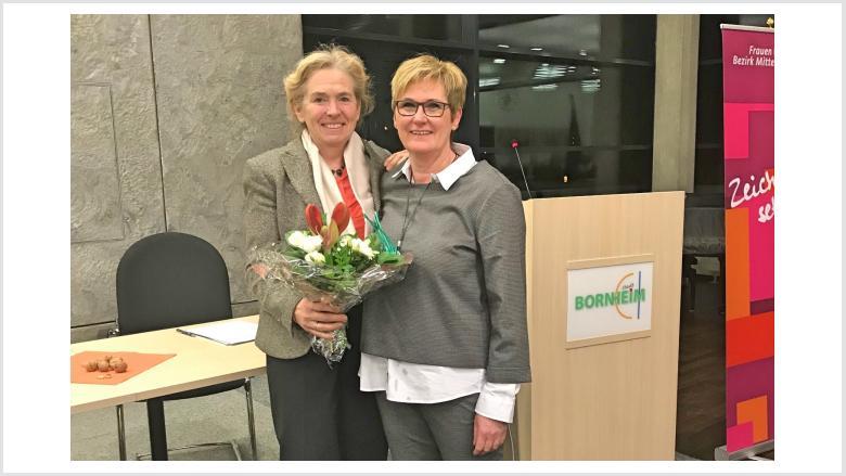 Danke Daniela Topp-Burkhart für fast 2 Jahrzehnte im Bezirk Mittelrhein.