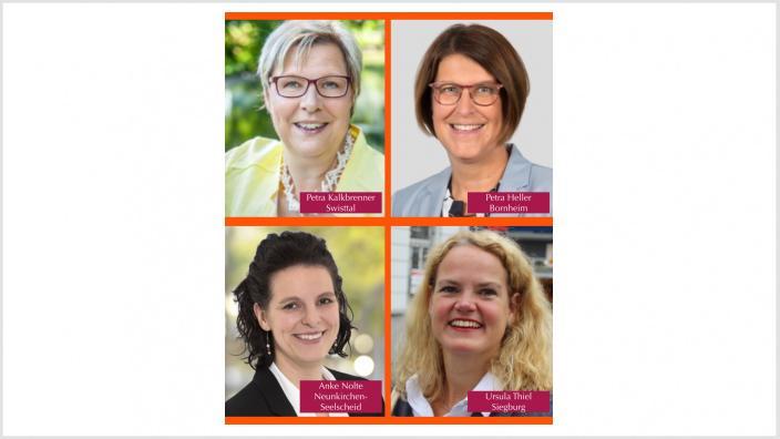 Vier CDU-Frauen kandidieren als Bürgermeisterin im Rhein-Sieg-Kreis
