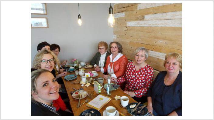 Stärkendes Frühstück für den Sprint im neuen Jahr: die Frauen Union Hennef