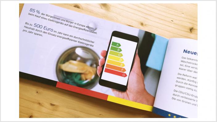 Energieeffizienzklassen sind eine wichtige Information zum Energieverbrauch